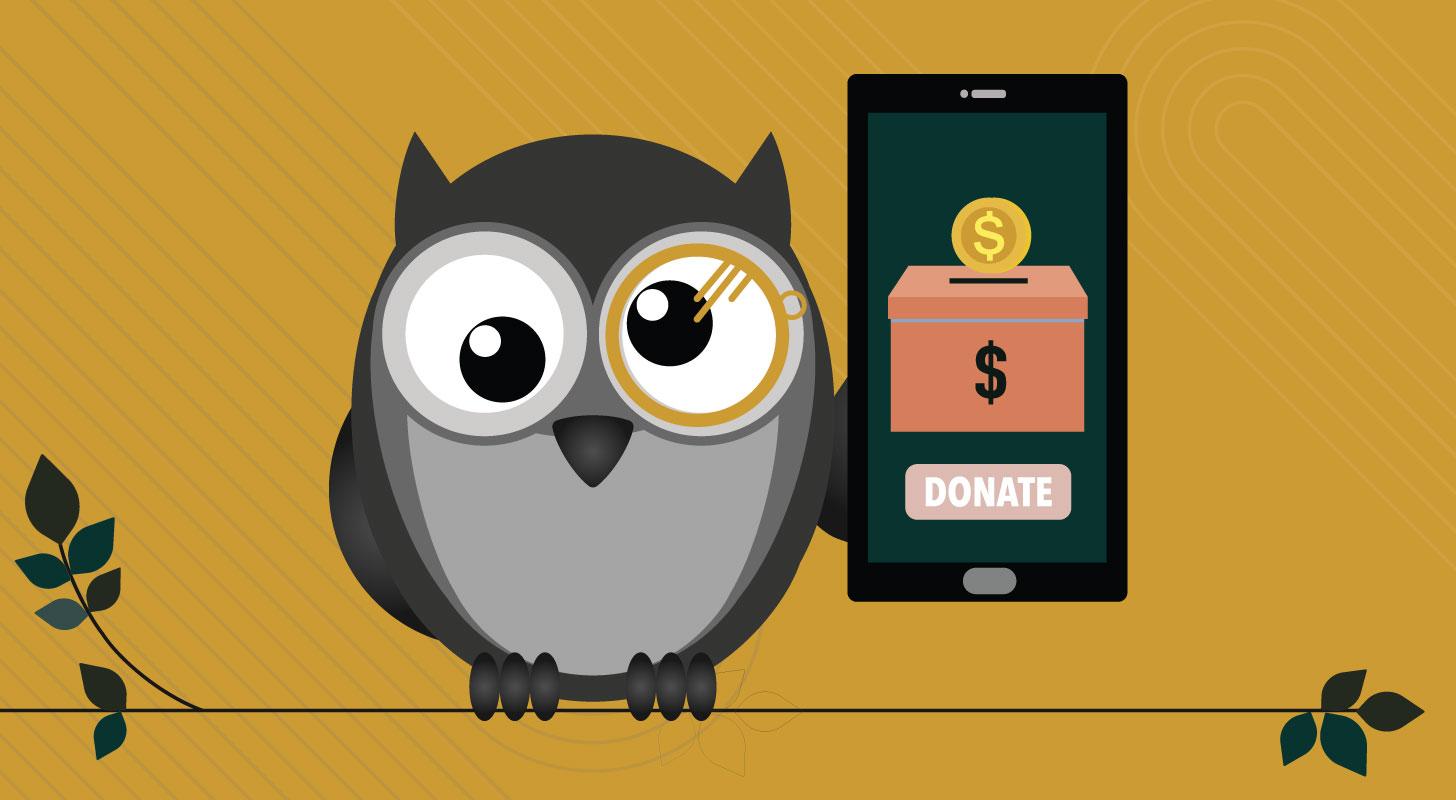 donate to everyday owl