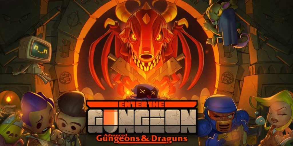top 5 indie switch games - enter the gungeon